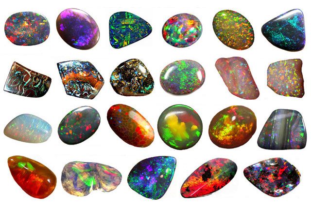 Top Les couleurs de l'Opale : toute la splendeur et les variétés de la  AP18