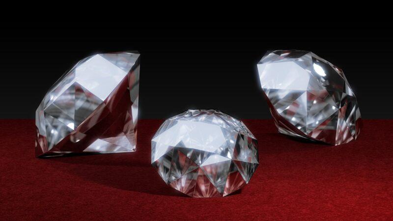Pierres précieuses et diamants