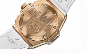 Verso Montre King Power Miami 305 de chez Hublot