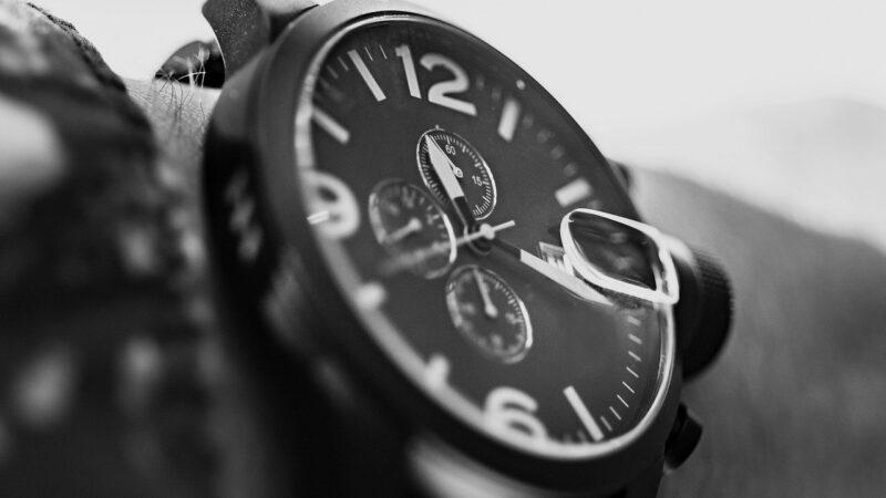 La montre de luxe : chronographe Audemars Piguet Royal Oak 38 mm